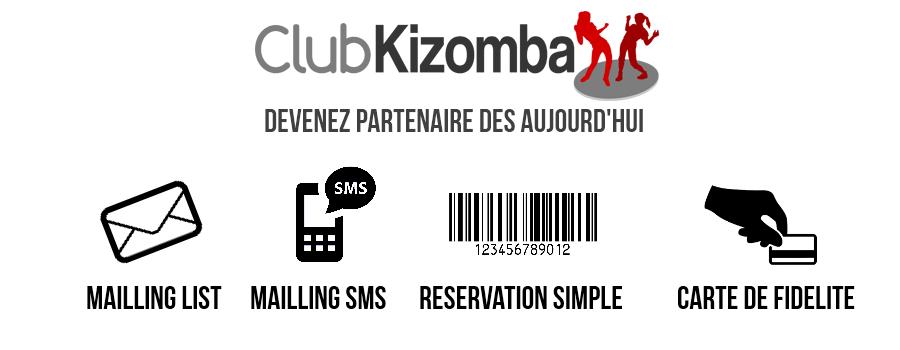 Avantage d'être partenaire du clubkizomba.com