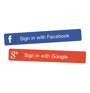Google Sign-in & Facebook Connect