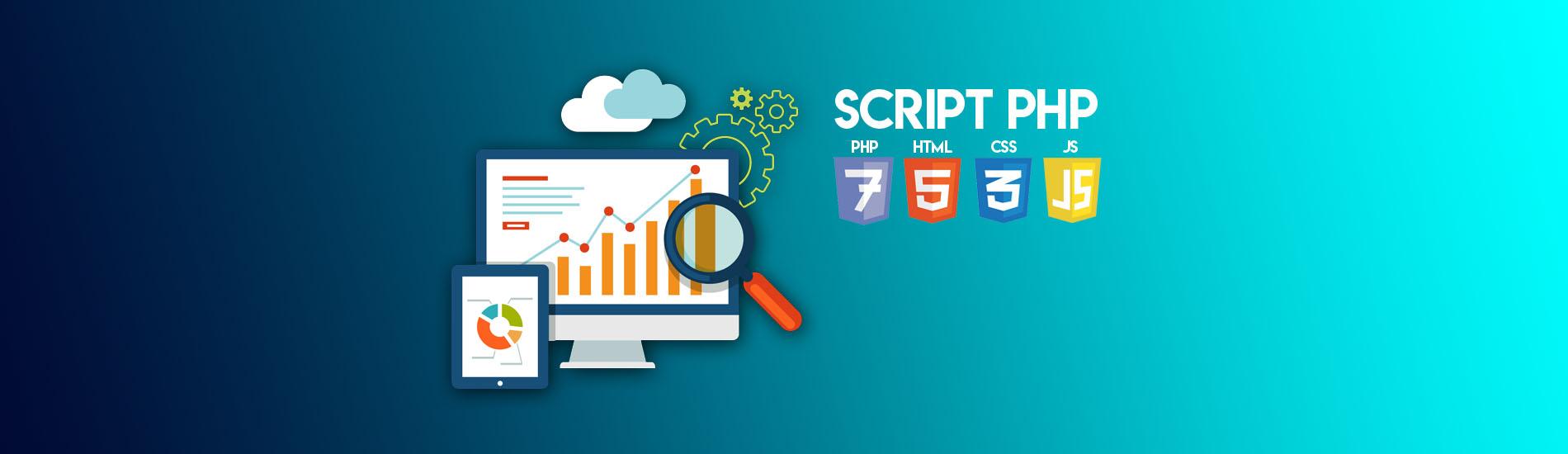 Script et PHP Clone site internet