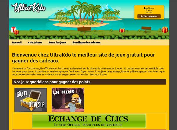 Ultrakdo.com site de jeux en ligne gratuit