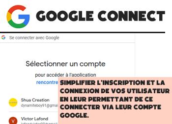 Plugin Google Connect