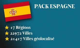 Pack Espagne